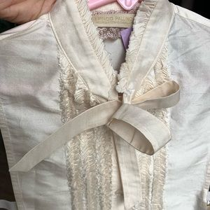 I Pinco Pallino Shirts & Tops - I PINCO PALLINO MOCK SHIRT WITH BOW GIRL 8